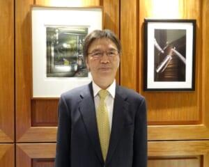 代表取締役社長松永 巳喜男 氏