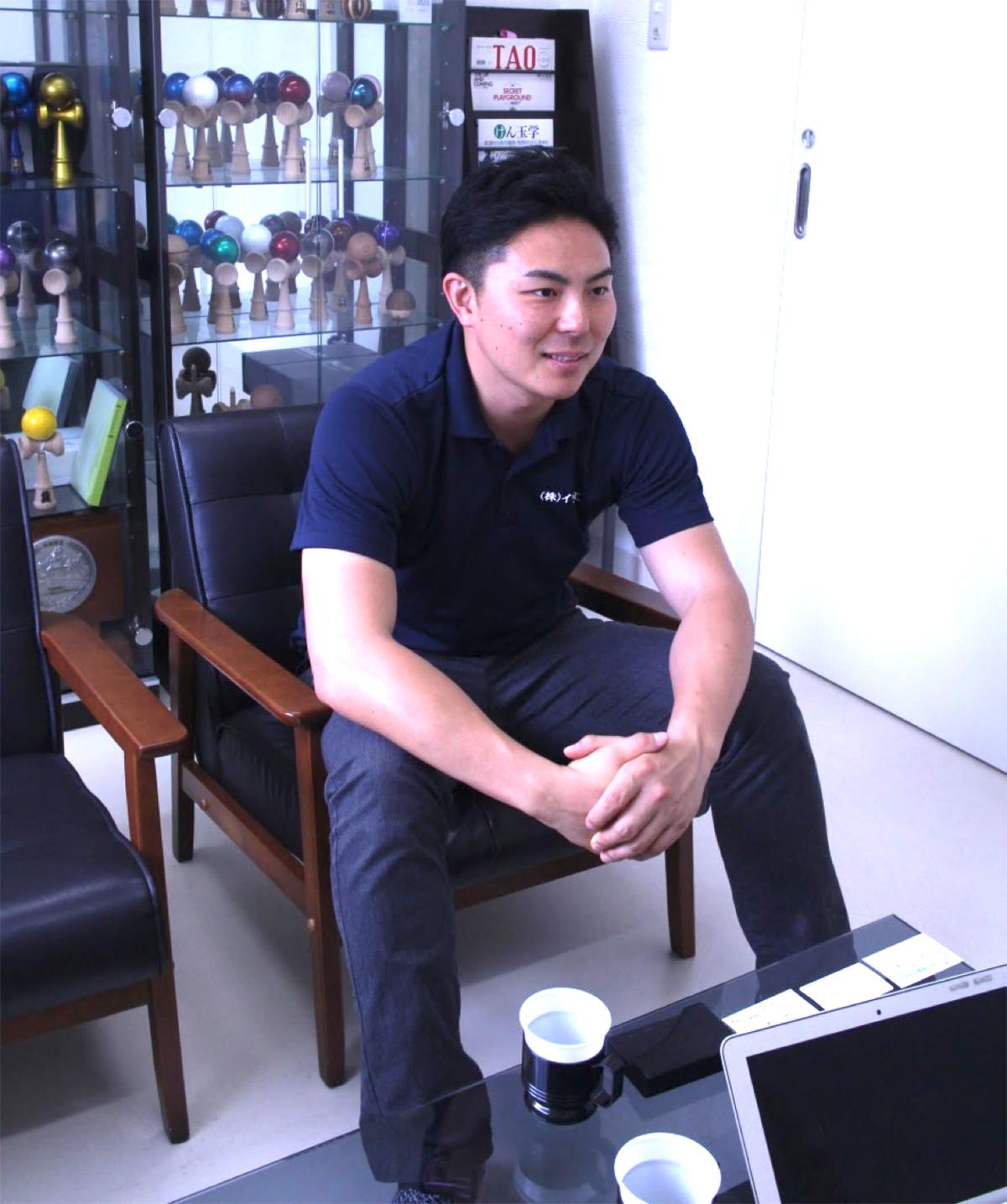 ▲代表取締役 岩田知真さん